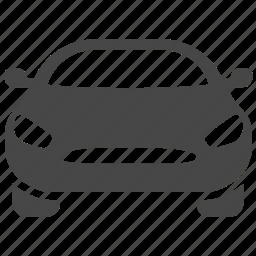 automobile, car, rental car, sedan, transport, transportation, vehicle icon