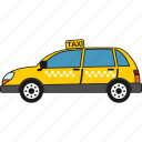 car, road, taxi, transport, transportation, vehicle icon