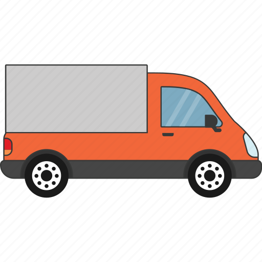 car, delivery, road, shipping, transport, vehicle icon