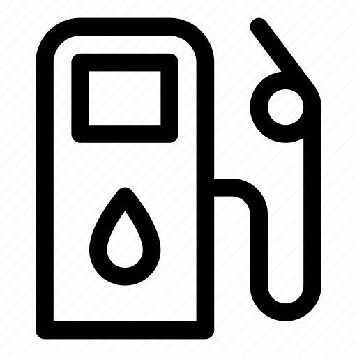 car, fuel, gas, oil, pump, station icon