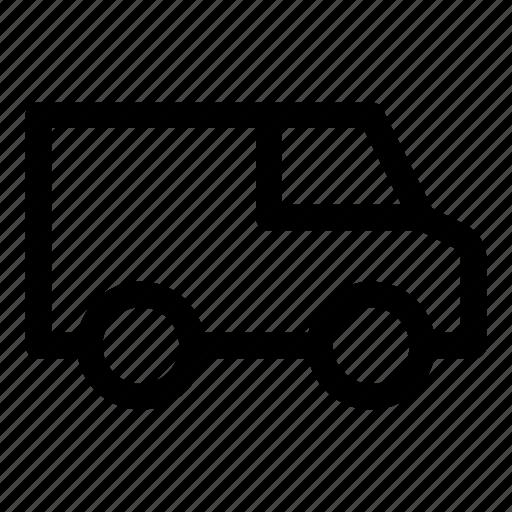 car, delivery, logistics, van, vehicle icon