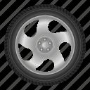 auto, automobile, car, disk, tire, transport, wheel