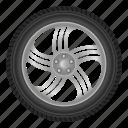 auto, automobile, car, disk, tire, wheel