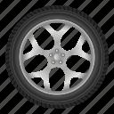 auto, automobile, car, disk, tire, transportation, wheel
