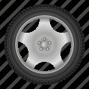 auto, automobile, car, disk, drive, tire, wheel