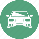 auto, car, coupe, sport, top, view icon