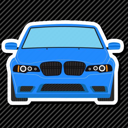 Auto, vehicle, automobile, luxury, limousine, private car, transport icon