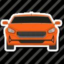 sedan, car, part, vehicle