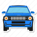 automobile, car, cartoon car, vehicle icon