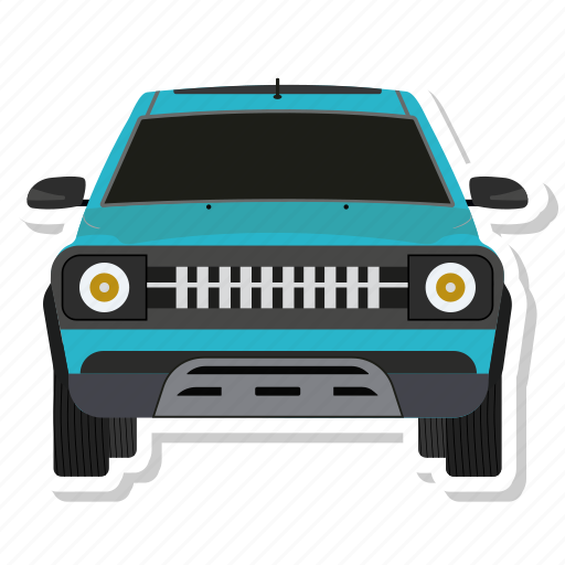 car, drive, travel icon
