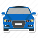car, part, sedan, vehicle icon