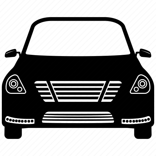 automobile, car, front, sports, sports car icon