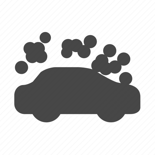 automobile, car, foam, spray, vehicle, wash icon