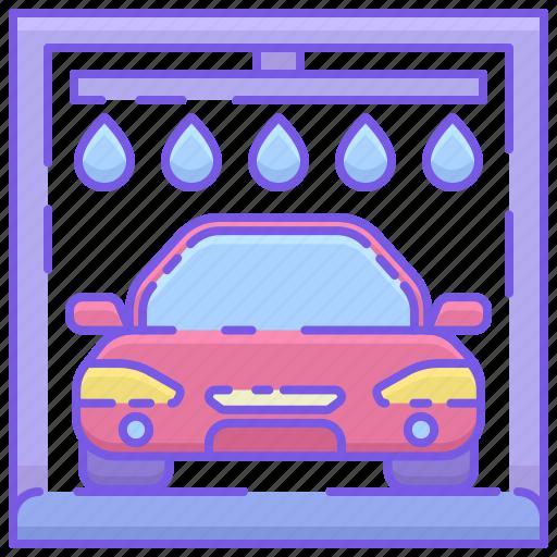 Automated Car Wash Automatic Car Wash Icon