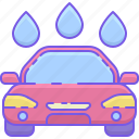 car, car wash, wash icon