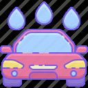 car, car wash, wash