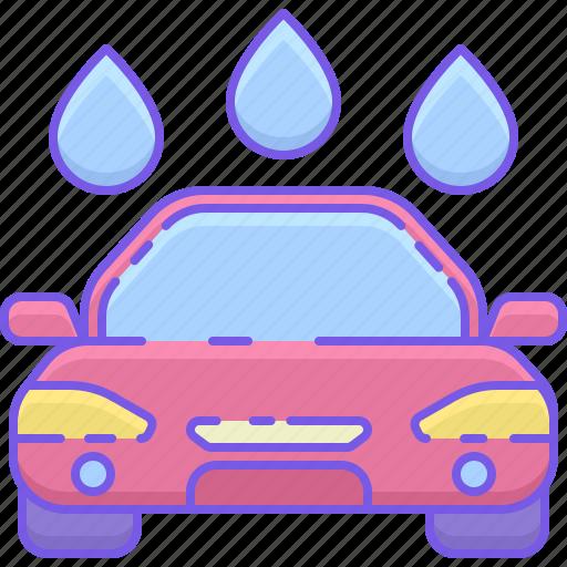 car, car wash, wash icon