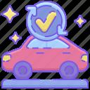 car wash, full service wash icon