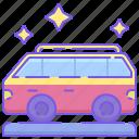 bus, minivan, van