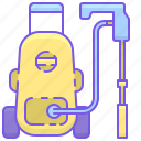 high pressure jet wash, jet wash, pressure washer icon