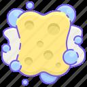 sponge, squeegee icon