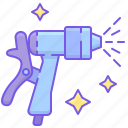 nozzle, spray, spray nozzle icon