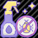 bug, pesticide, spray icon
