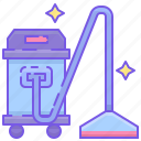 vacuum, vacuum cleaner icon