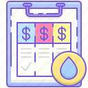 fees, pricing, service package icon