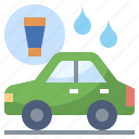 car, clean, cleaning, service, transportation, wash, washing icon