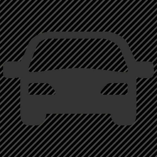 car, car care, car park, car wash, front, transport, transportation icon