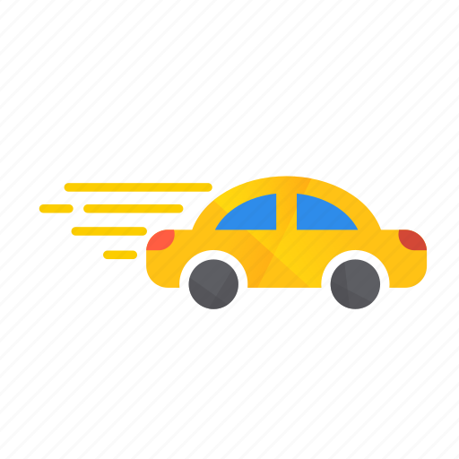 Car, fast, fast car, model, speed, autonomous, self-drive icon - Download on Iconfinder