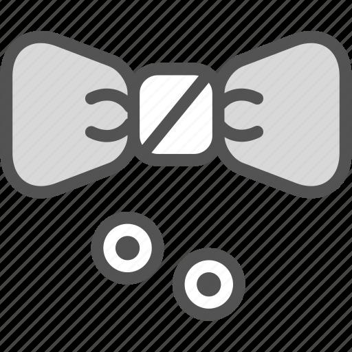 buttons, costume, elegant, papion icon