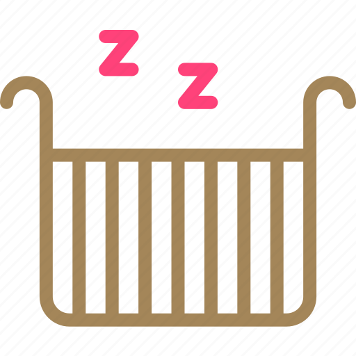 baby, bed, kid, sleep, snap icon