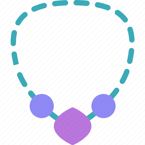 date, elegant, jewelry, meeting, necklace icon