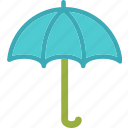 antivirus, rain, shield, umbrella, weather icon