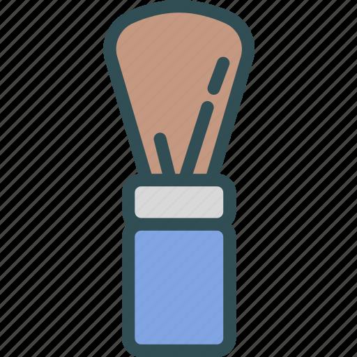 beard, cream, powder, shave icon