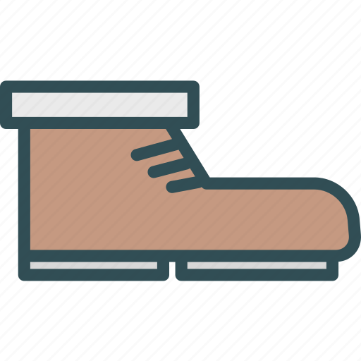 male, shoes, snow, winter icon