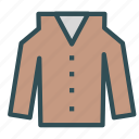 blouse, clothes, fashion, old, shirt icon