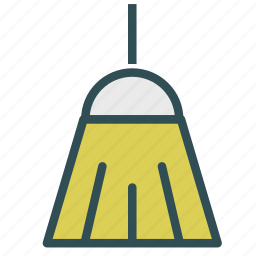 broom, clean, house, wipping icon
