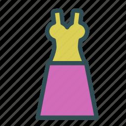 clothes, dress, fashion, skirt, woman icon