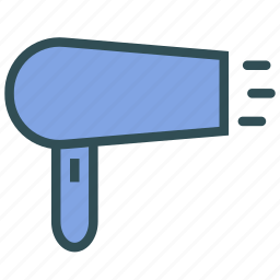 dryer, foehn, hairdryer, product, woman icon