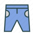 clothes, pants, shorts, training icon