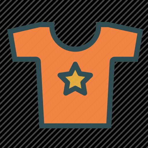 clothes, fashion, kid, star, tshirt icon