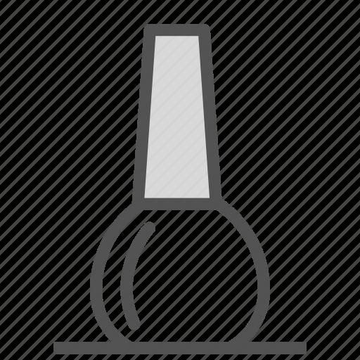 bottle, container, manicure, nail, nailpolish icon