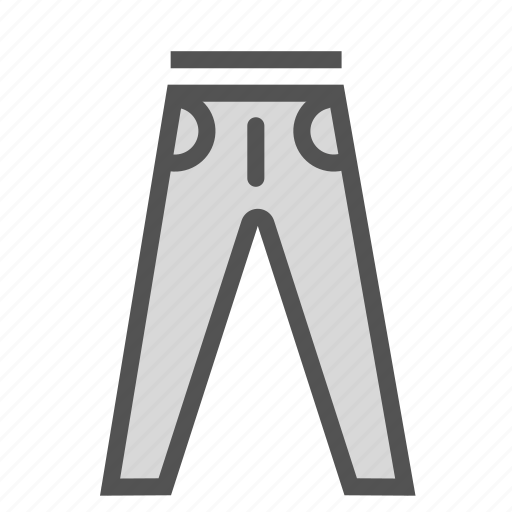 clothes, fashion, jeans, pants icon