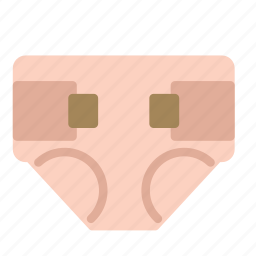 baby, diaper, infant, toddler icon