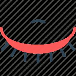 eye, eyelash, mascara icon
