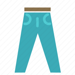 clothes, fashion, jeans, pants icon