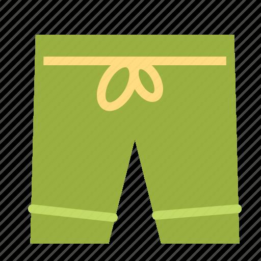 clothes, pants, shorts, training icon